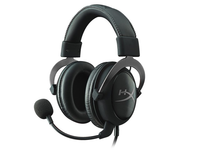 HEADSET GAMER HYPERX KHX-HSCP-GM CLOUD II PRETO/CINZA na internet