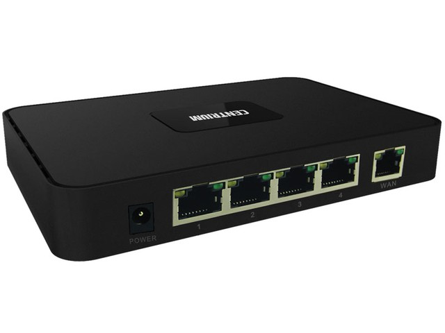 SWITCH POE CENTRIUM SECURITY APE-RT411C COM 4 PORTAS POE - comprar online