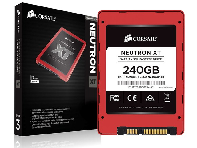 SSD DESKTOP NOTEBOOK GAMER CORSAIR CSSD-N240GBXT NEUTRON XT 240GB 2.5
