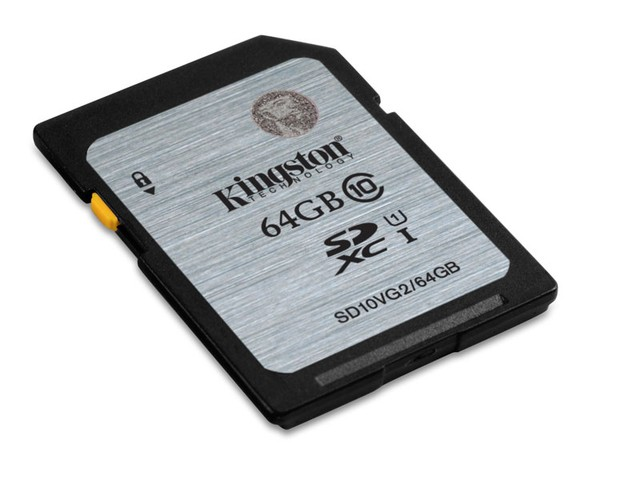 CARTAO DE MEMORIA CLASSE 10 KINGSTON SD10VG2/64GB SECURE DIGITAL SDXC 64GB UHS-I - comprar online