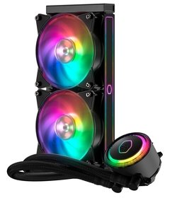 WATER COOLER MASTERLIQUID ML240RS - 240MM RGB - MLX-S24M-A20PC-R1 - loja online
