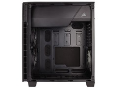 GABINETE GAMER CORSAIR CC-9011080-WW CARBIDE SERIES 600Q QUIET PRETO na internet
