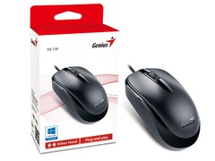 MOUSE GENIUS 31010105100 DX-120 USB PRETO 1200 DPI