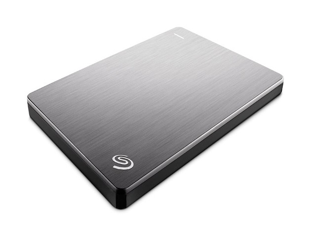 HDD EXTERNO 2,5 PORTATIL SEAGATE STDR2000101 BACKUP PLUS SLIM 2 TERA PRATA USB 3,0