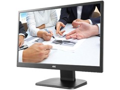"MONITOR LED 23 AOC M2470PWH 23,6"" LED 1920X1080 FULL HD WIDESCREEN VGA HDMI VESA COM AJUSTE DE ALTURA"
