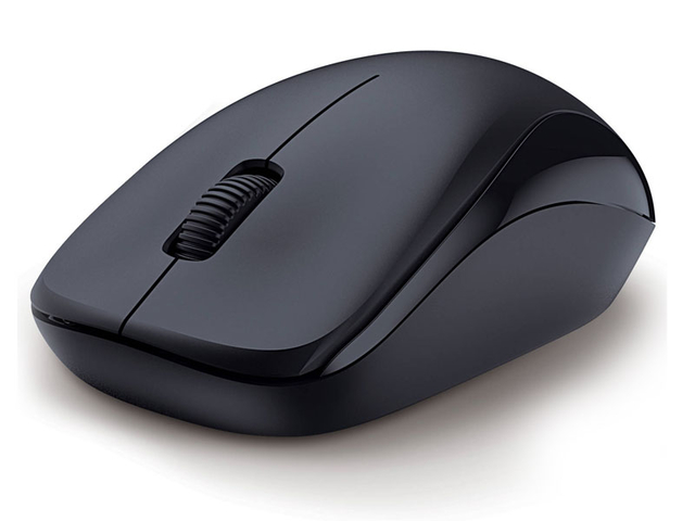 MOUSE WIRELESS GENIUS 31030109117 NX-7000 BLUEEYE PRETO 2,4 GHZ 1200 DPI - comprar online