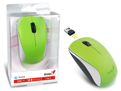 MOUSE WIRELESS GENIUS 31030109121 NX-7000 BLUEEYE VERDE 2,4 GHZ 1200 DPI