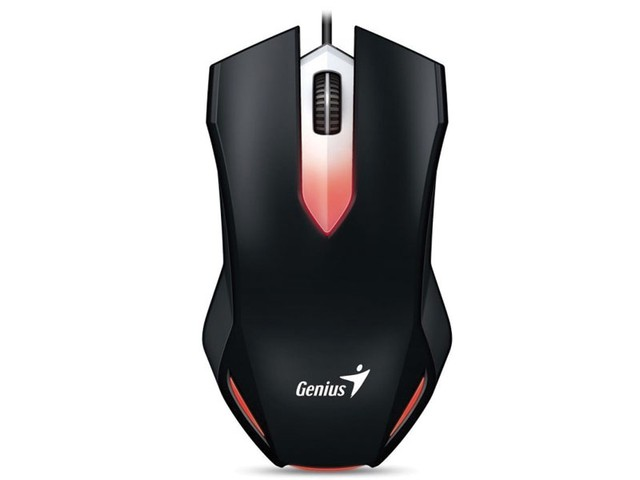 MOUSE GAMER GENIUS 31040034100 X-G200 USB PRETO na internet