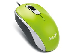 MOUSE GENIUS 31010116105 DX-110 USB VERDE