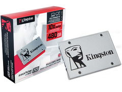 "SSD KIT DESKTOP NOTEBOOK KINGSTON SUV400S3B7A/480G UV400 480GB 2.5"" SATA III BOX"