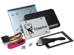 "SSD KIT DESKTOP NOTEBOOK KINGSTON SUV400S3B7A/480G UV400 480GB 2.5"" SATA III BOX - comprar online"
