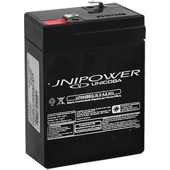 BATERIA 6V 4,5AH (UP645SEG) - UNIPOWER