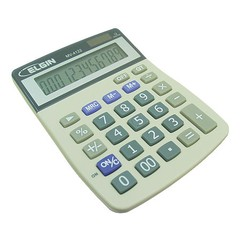 CALCULADORA DE MESA MV-4122 - ELGIN