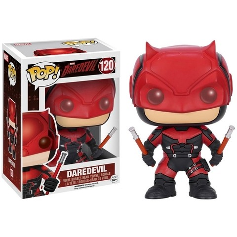BONECO FUNKO POP DAREDEVIL - DAREDEVIL RED SUIT