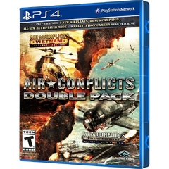 JOGO AIR CONFLICTS DOUBLE PACK PS4