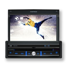 "Auto Rádio Positron DVD Player SP-6700DTV 7"" Retrátil/ USB/ MP3/ TV Digital - Preech Informática - Informática e suas tecnologias"