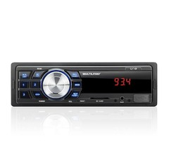 Auto Rádio Multilaser P3213 One MP3/FM/USB/SD Card/ Auxiliar