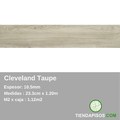 PORCELANATO SIMIL MADERA CLEVELAND TAUPE 23,3 cm x 120 cm x 10,5MM - comprar online