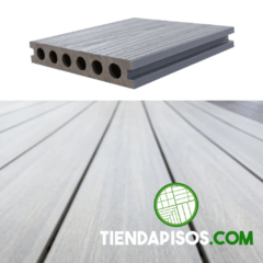 DECK PVC CO-EXTRUDED ANTIQUE 23 MM X 140 MM X 2200 MM - comprar online