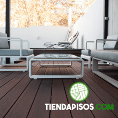 DECK PVC CO - EXTRUDED LAPACHO 20 MM X 140 MM X 2900 MM