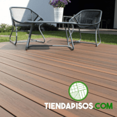 DECK PVC CO - EXTRUDED LAPACHO 20 MM X 140 MM X 2900 MM - comprar online