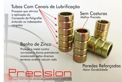 Freemont - Kit Buchas Traseiro Completo Pu - 5 Anos Garantia - Precision Suspension Parts