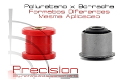 Citroen C5 - Kit Buchas Mancal Bandeja Pu - 5 Anos Garantia - Precision Suspension Parts