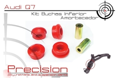 Audi Q7 -kit Buchas Bandeja Inferior Em Pu - 5 Anos Garantia - Precision Suspension Parts