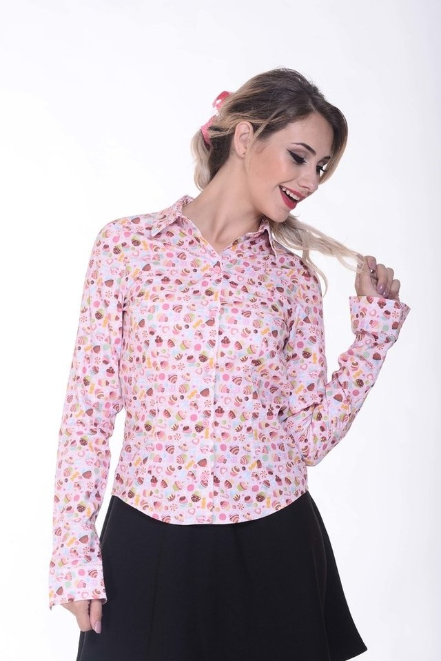 Camisa candy shop - loja online