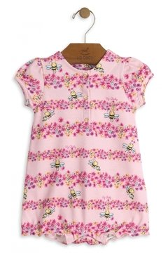 Macaquinho rosa floral - Up Baby - comprar online