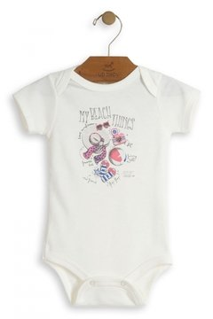 Body manga curta My Beach - Up Baby - comprar online