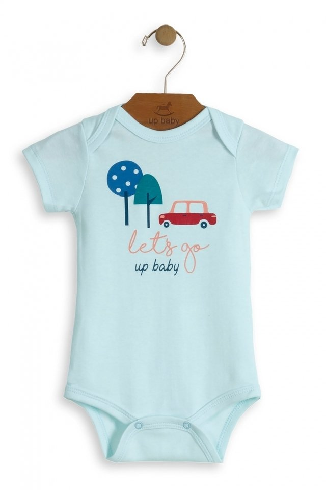 Up Baby - Body manga curta Let's Go - comprar online