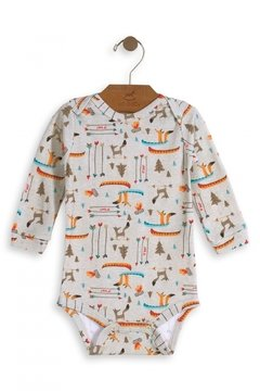 Body manga longa Nature Friends - Up Baby - comprar online