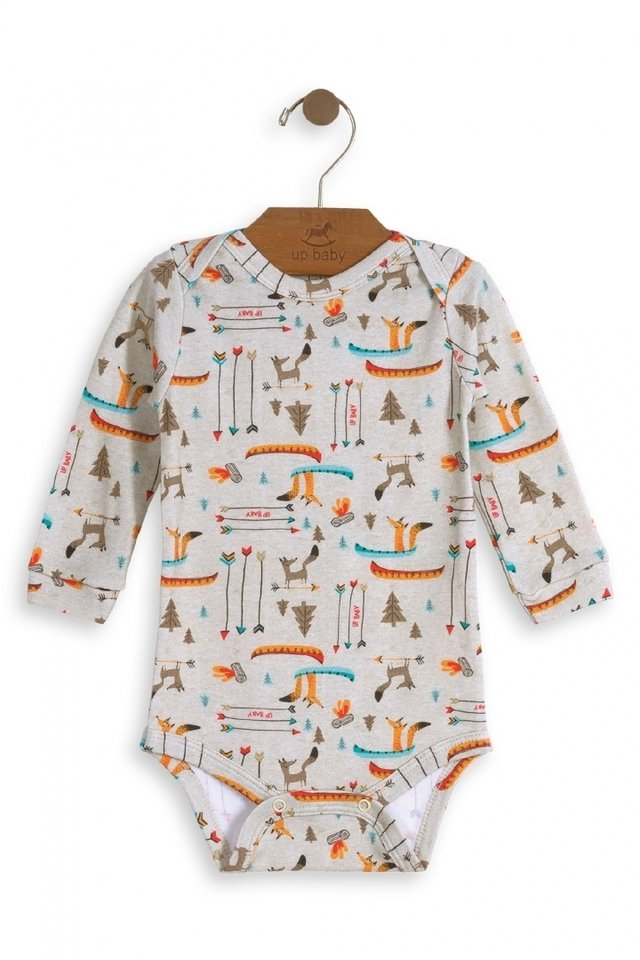 Up Baby - Body manga longa Nature Friends - comprar online