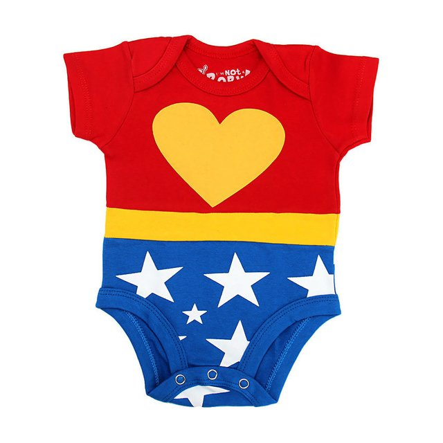 I'm not baby - Body divertido Mulher Maravilha - comprar online