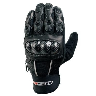 Guantes Ls2 Corto Speed Cross Pista Tela Cuero