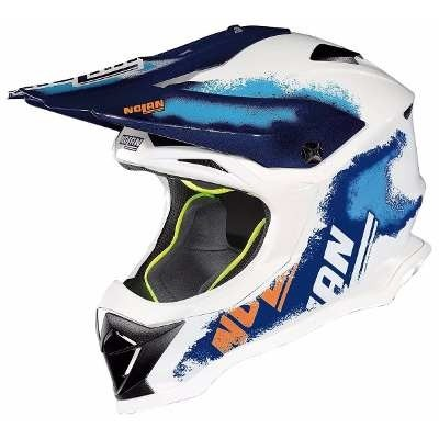 Casco Cross Nolan N53 Lazy Boy Italy Nuevo Modelo