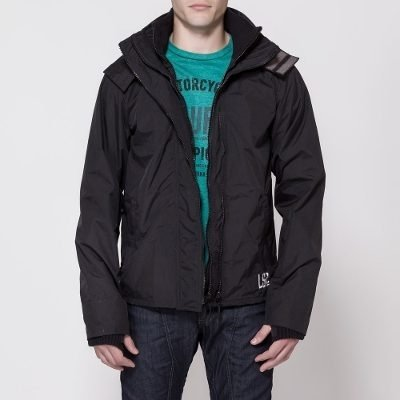 Campera Moto Ls2 Gao Con Capucha Ideal Invierno