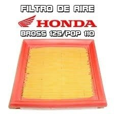 Filtro Aire Original Bros 125 - Xr125 - Pop 100 Moto Delta