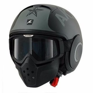Casco Shark Raw Soyouz Mate Alta Gama