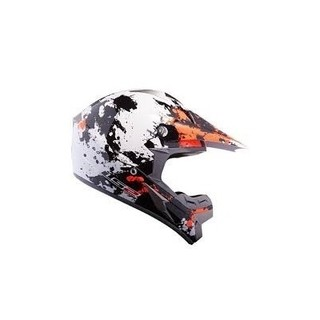 Casco Cross Ls2 Mx433 Blast Orange - comprar online