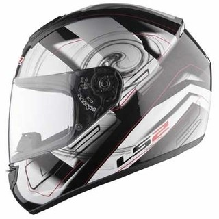 Casco Ls2 Ff350 Action White Silver