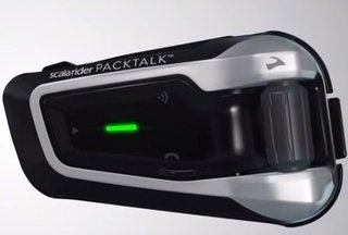 Intercomunicador Scala Rider Packtalk X 1 Unidad Oficial Md! en internet