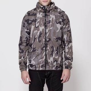 Campera Ls2 Dirt Camo Gris