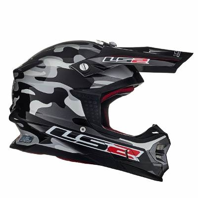 Casco Cross Ls2 Mx456 Dakar 2015 Edicion Limitada