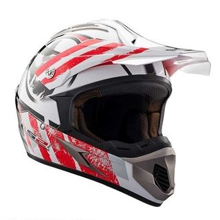 Casco Cross Ls2 Mx433 Stripe Moto Delta Tigre