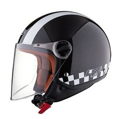 Casco Ls2 Ff560 Abierto Travis Bat Black