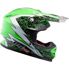 Casco Cross Ls2 Mx456 Factory White Air Go Dakar 2015