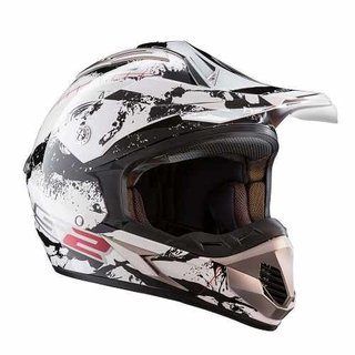 Casco Cross Ls2 Mx433 Quake. Moto Delta Tigre