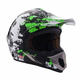 Casco Cross Ls2 Mx433 Blast Desperado Quake - Motodelta